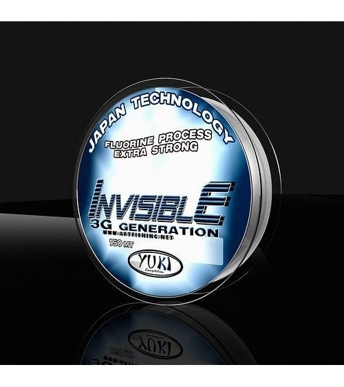 Monofilo Invisible 150mt Yuki ottima resistenza alle abrasioni e resistenza al nodo e nessuna memoria meccanica.