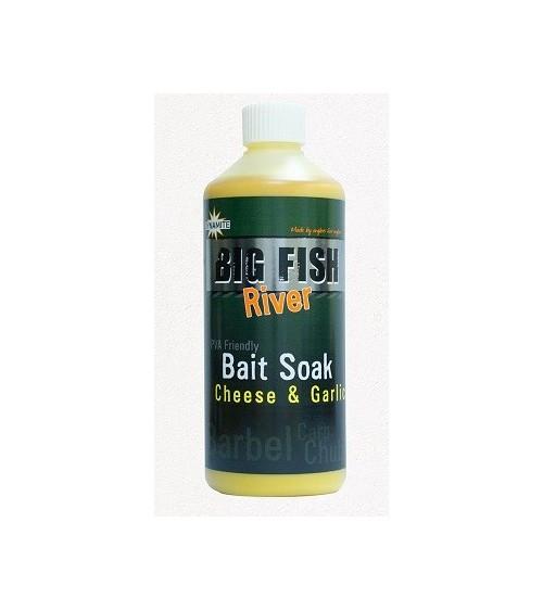 Additivo Big Fish CheeseGarlic Soak 500ml Dynamite per i pescatori più esigenti
