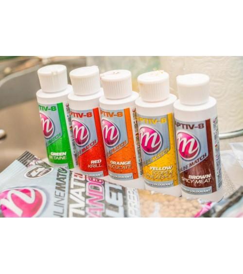 Colora i tuoi pellet con i nuovi Flavoured Colourant di Mainline bait.