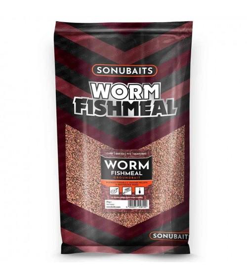Pastura worm fishmeal. Contiene ground pellets, fishmeal e vermi di terra disidratati per aumentarne l'attrazione e l'aroma
