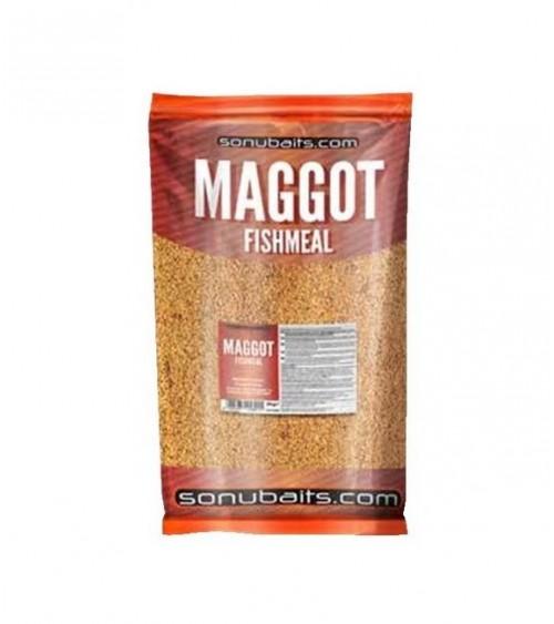 Pastura a base di farina di pesce con l'aggiunta di pellets e farina di bigattini disidratati.