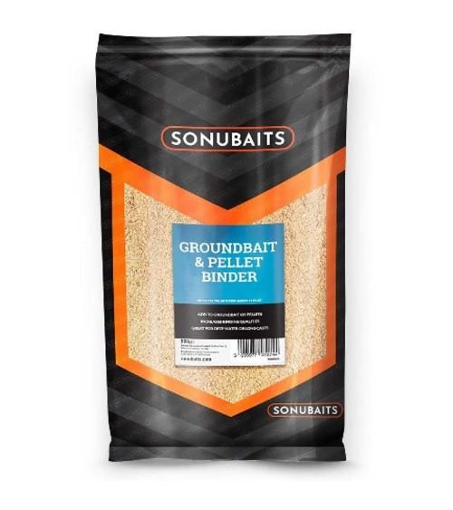 Groundbait and Pellet Binder è studiato per legare maggiormente la pastura o i pellets ed è un additivo semplice da usare.